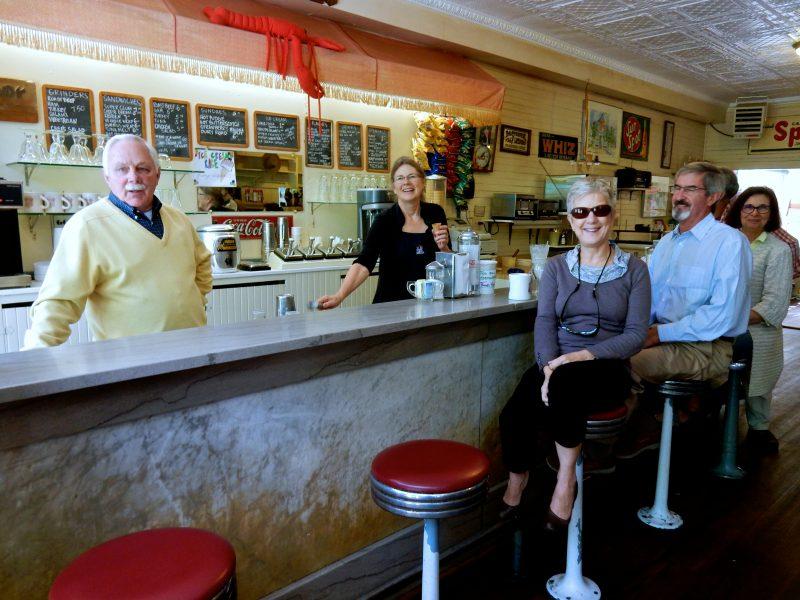 Locals, Dark Harbor Shops, Islesboro ME