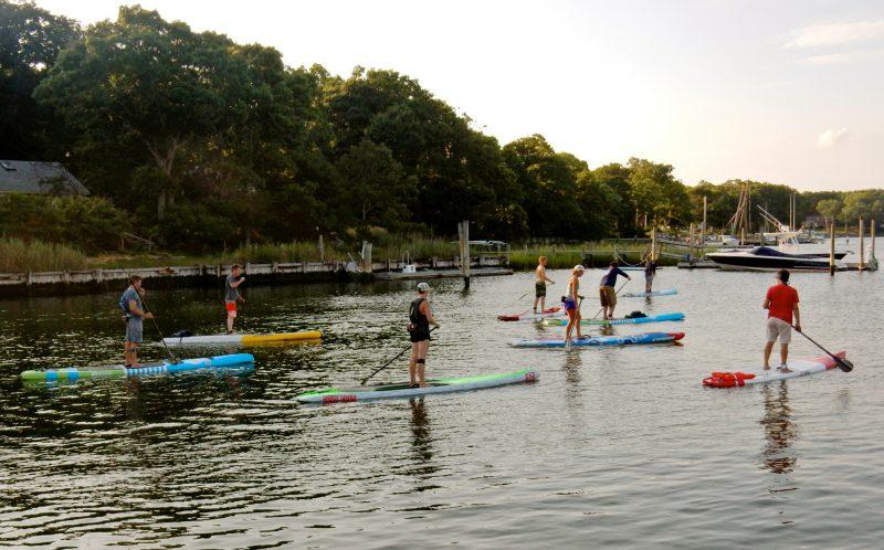 One Love Beach Community Paddle, Greenport NY