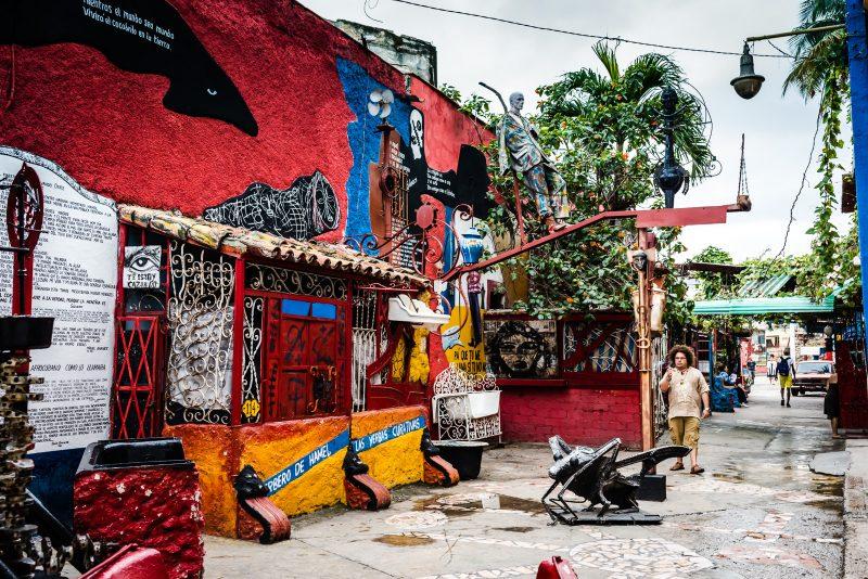 Callejon de Hamel - Havana Cuba