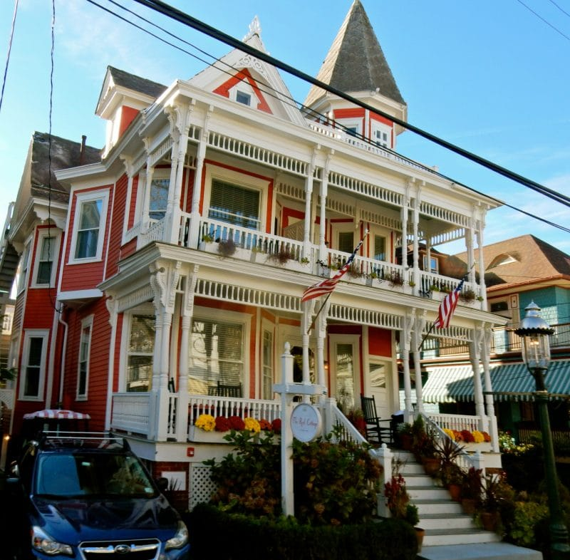 red-gingerbread-house-cape-may-nj