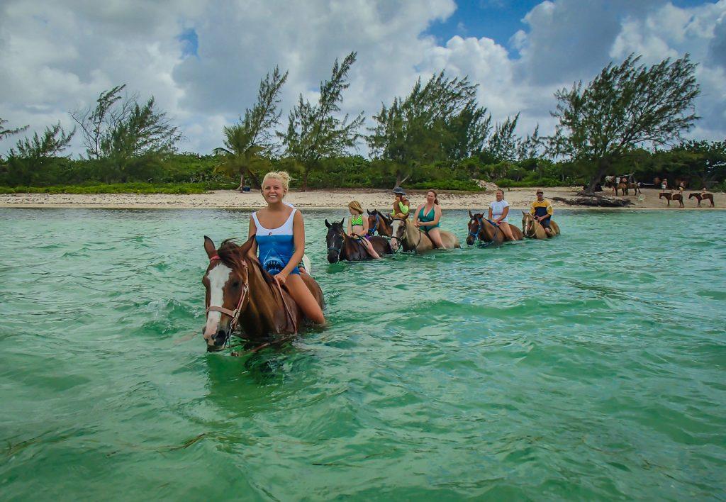 Bareback Swim - Grand Cayman