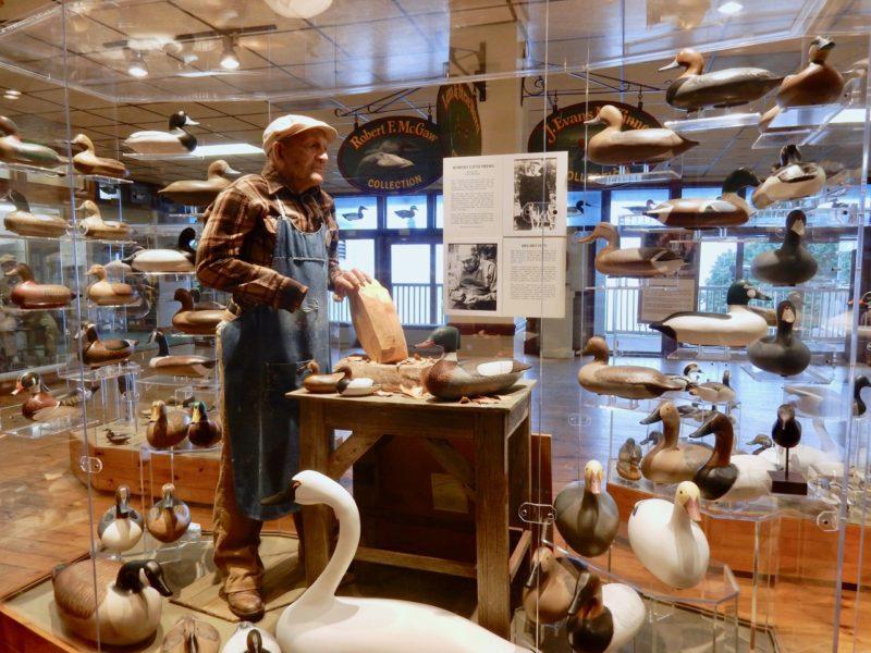 Decoy Carver, Decoy Museum, Havre de Grace MD