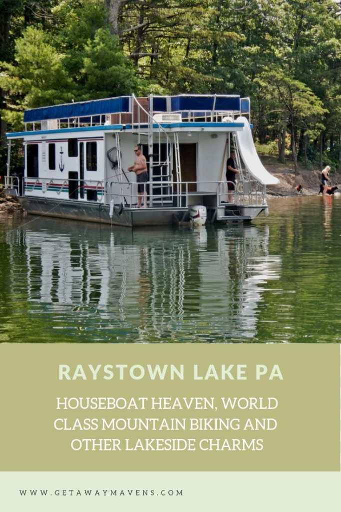 Raystown Lake PA Pin