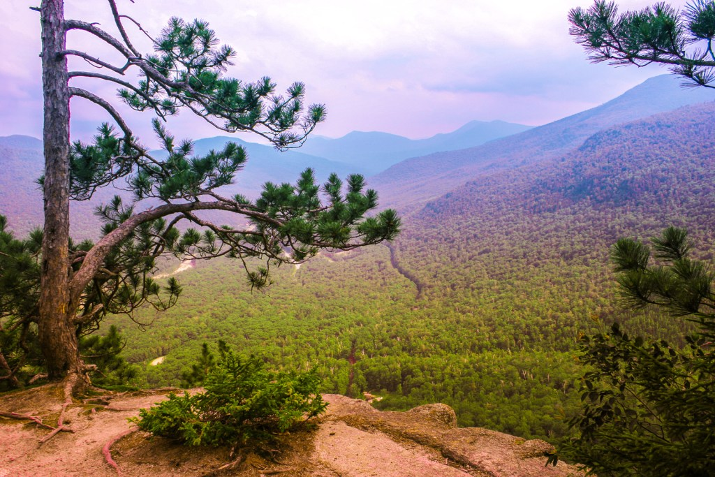 Scenic vista at White Mountains explains why this tops the list of romantic weekend getaways.