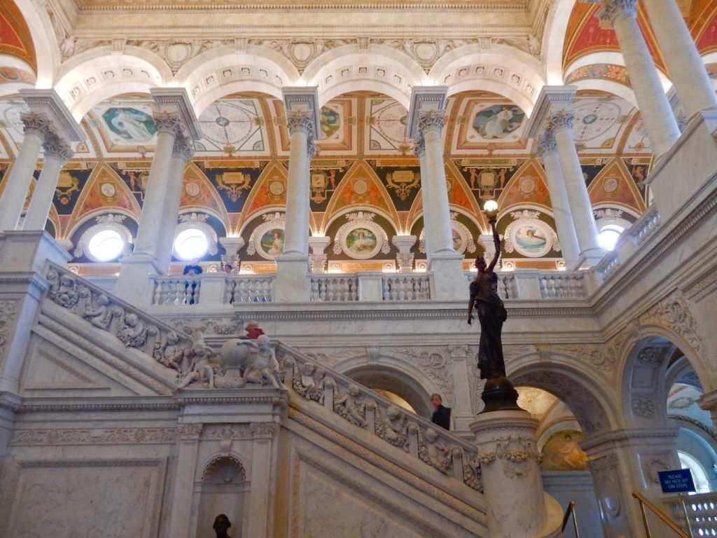 Library of Congress Jefferson Building Washington DC