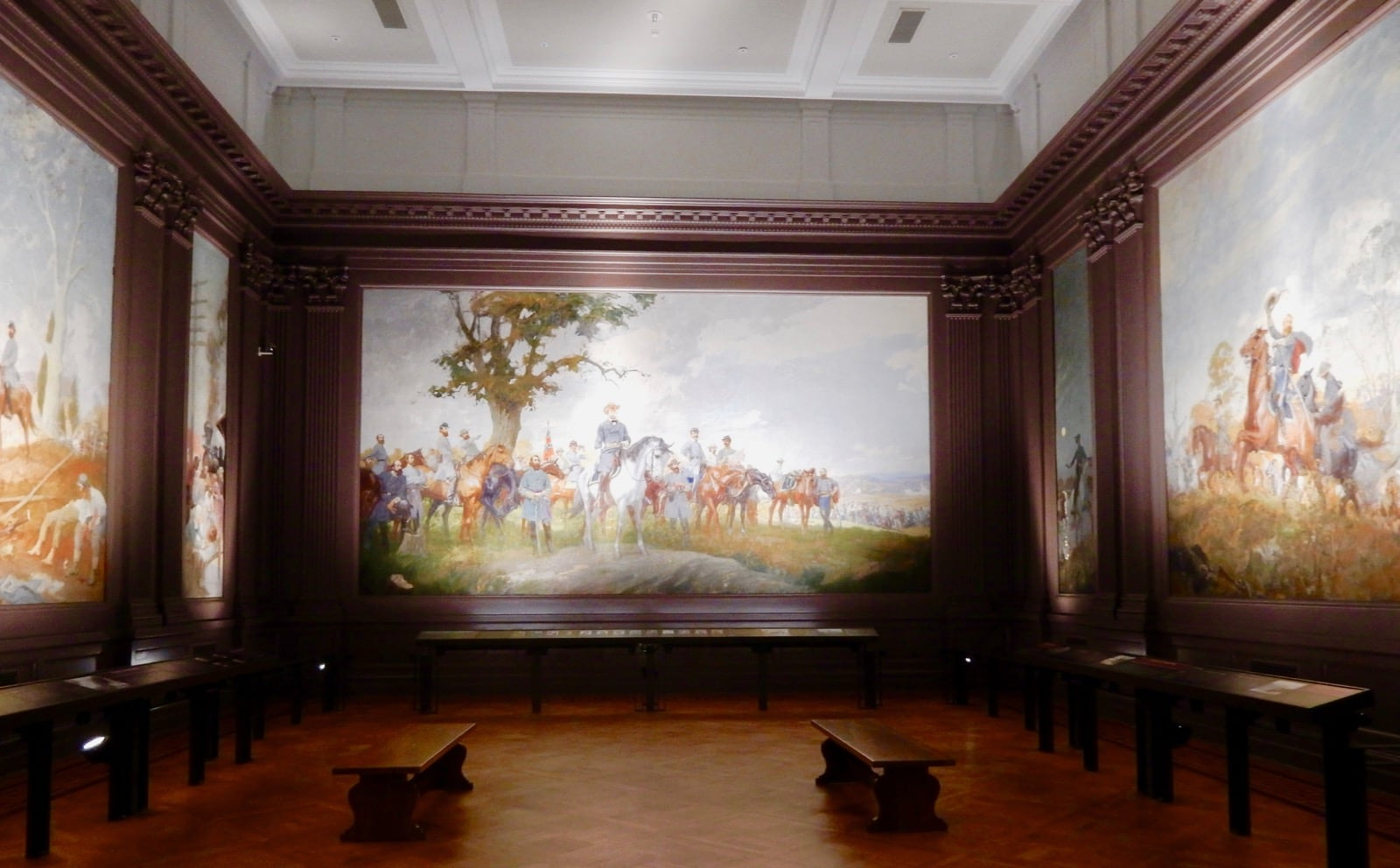 Confederate Murals, Virginia Historical Society Richmond VA
