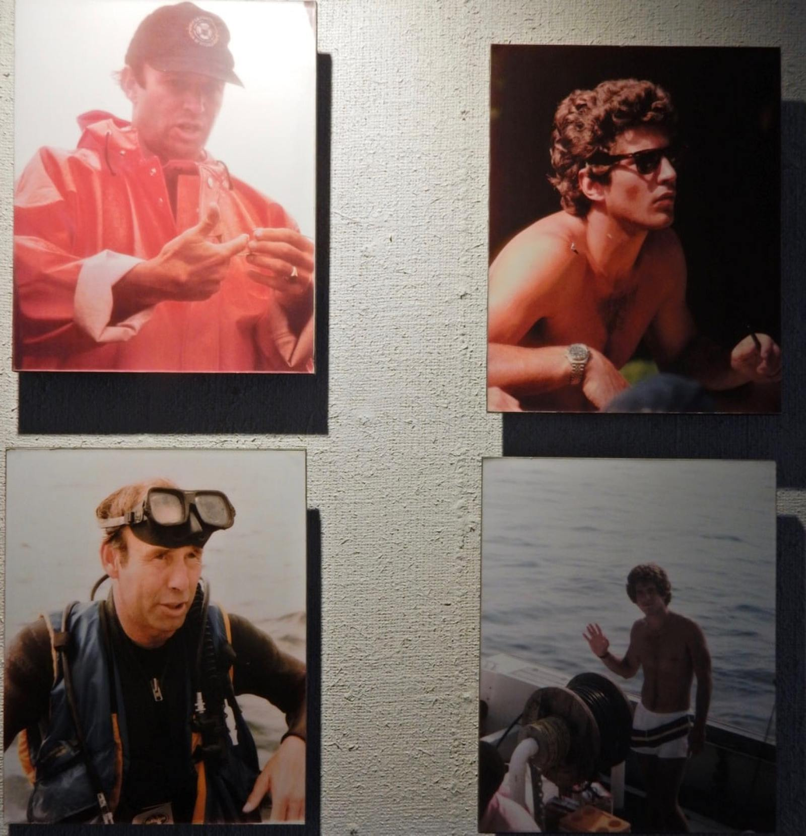 John Kennedy Jr. Diving for Treasure with Barry Clifford