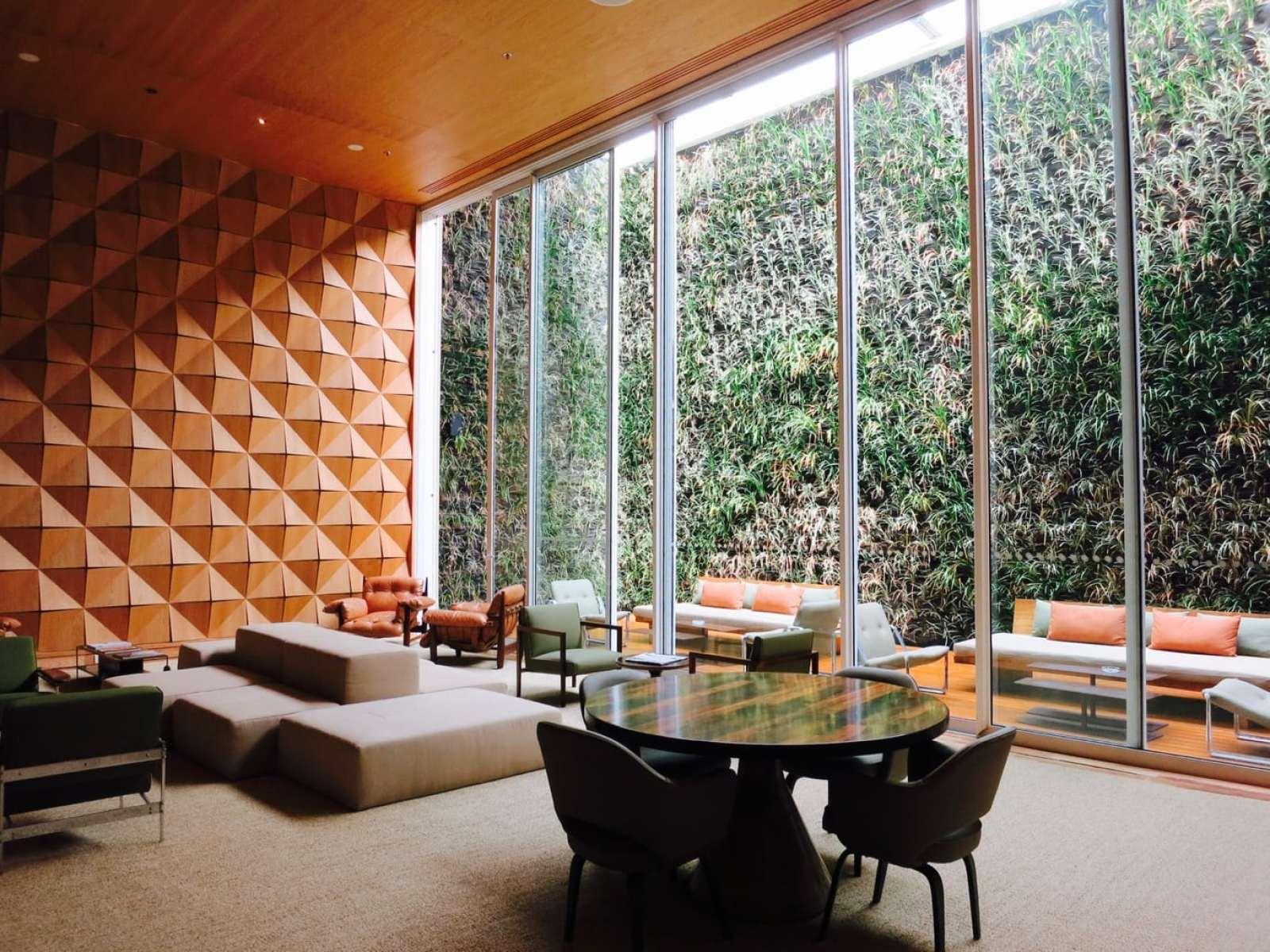 Library Living Room Hotel Emiliano Rio Brazil