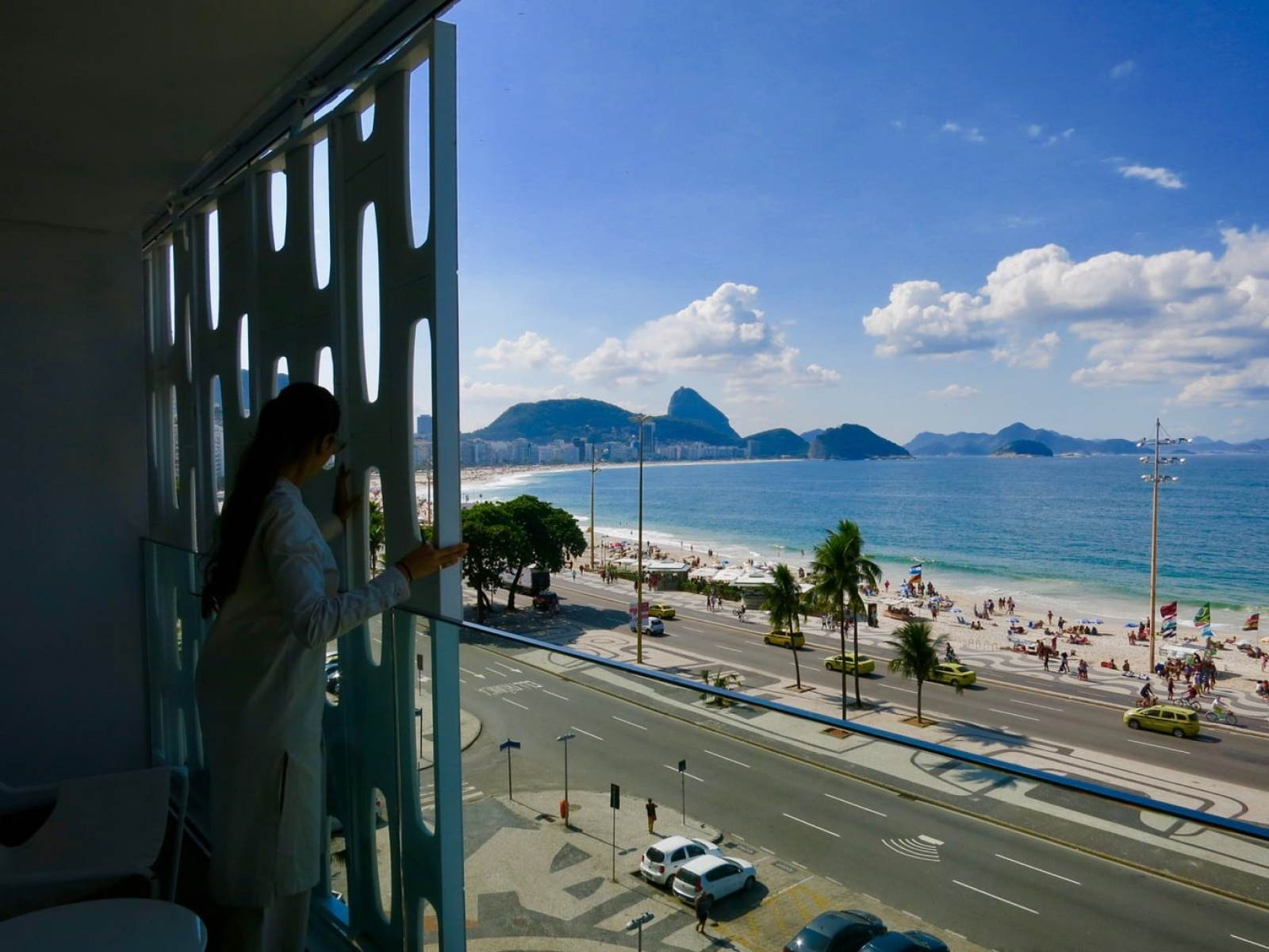 View from Room, Hotel Emiliano Rio Brazil