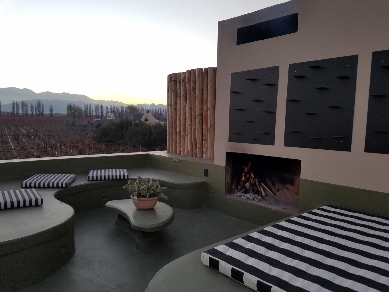 Top of Villa Cavas Wine Lodge Mendoza Argentina