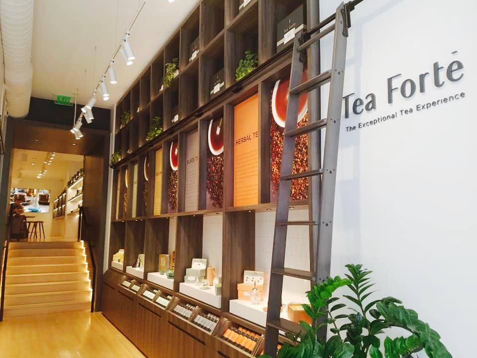 Tea Forte, Newbury St. Boston MA