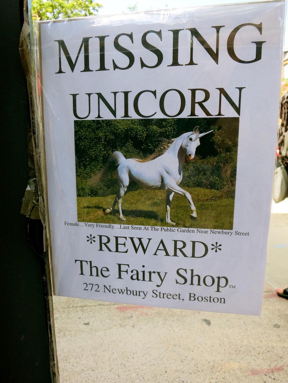 Fairy Shop, Newbury St Boston