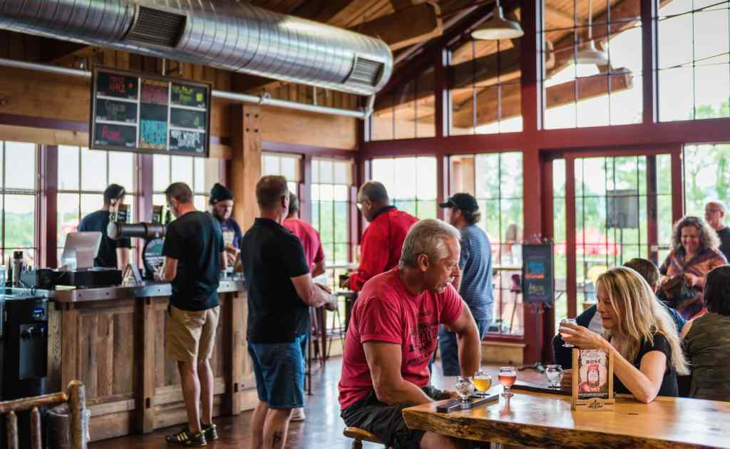 Angry Orchard Tasting Room