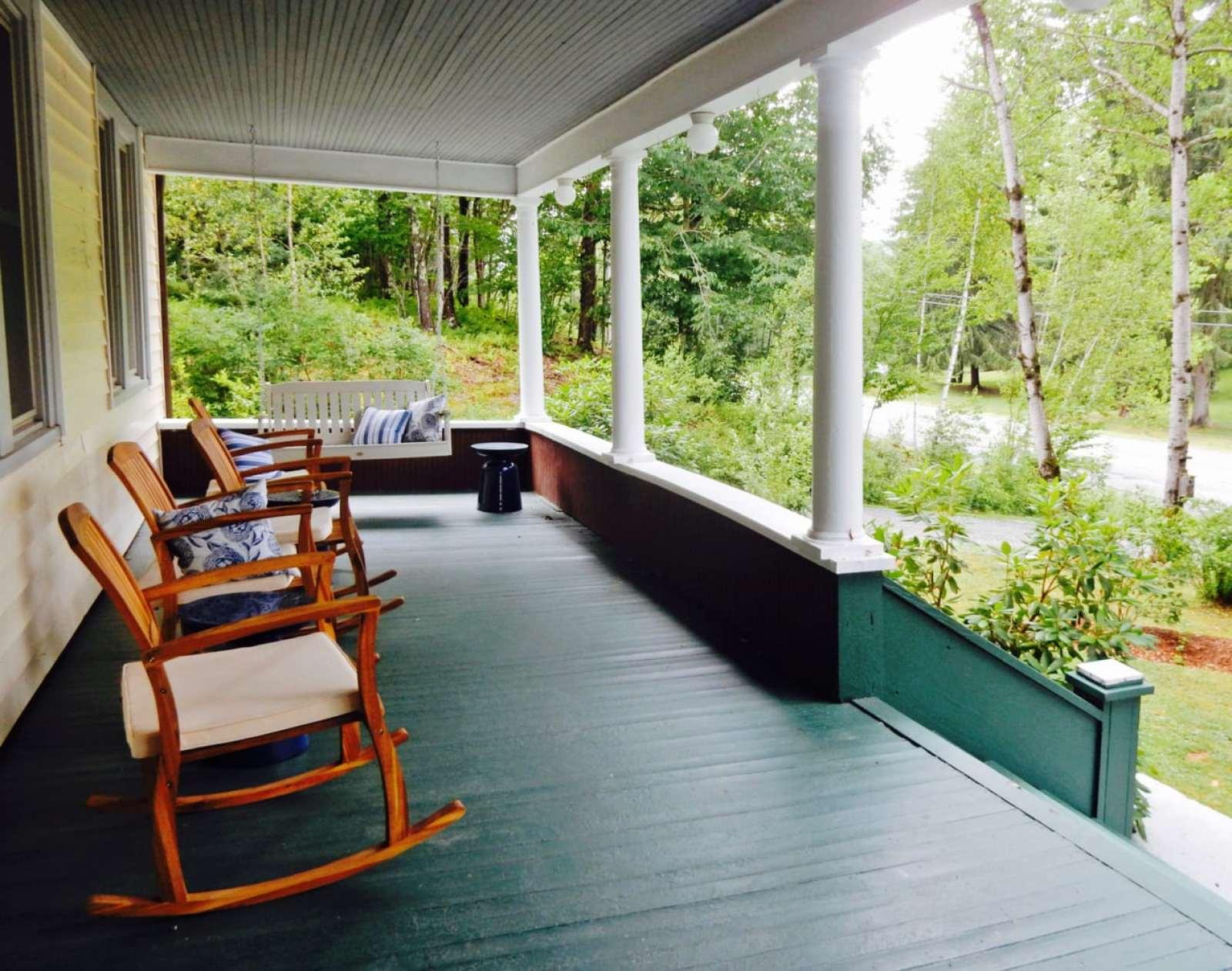 Porch - The DeBruce - Livingston Manor NY