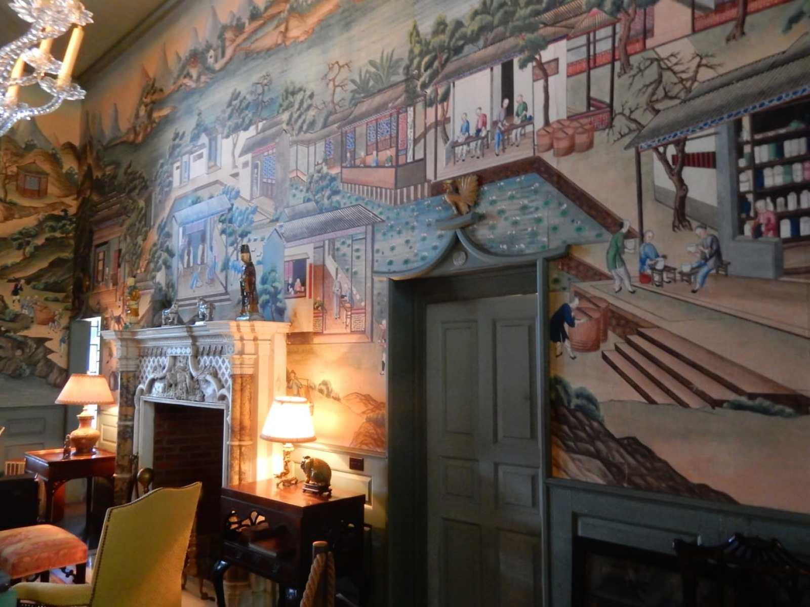 China Trade Room Sleeper McCann House Gloucester MA