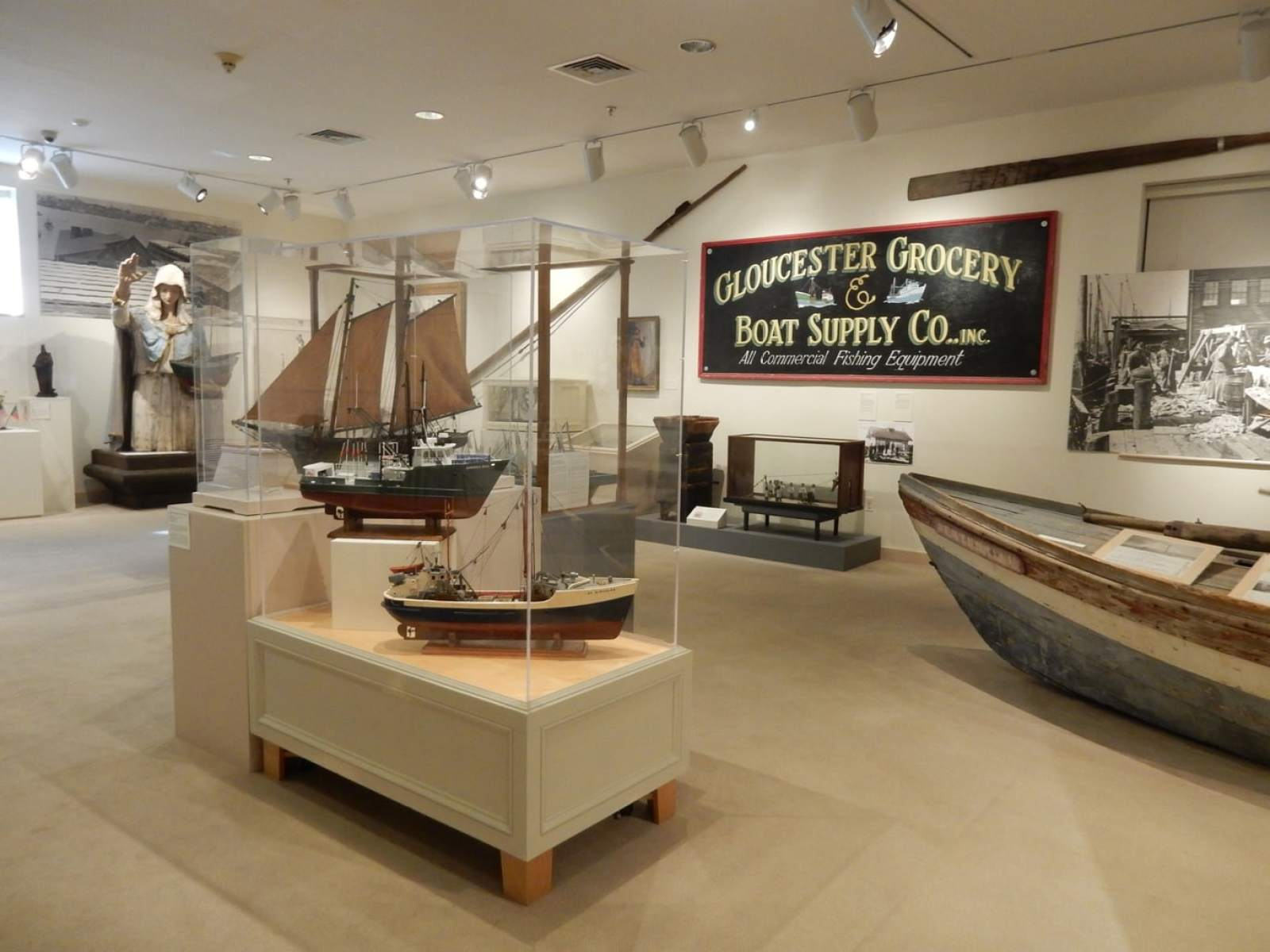 Fisheries Exhibit Cape Ann Museum of Art and History Gloucester MA