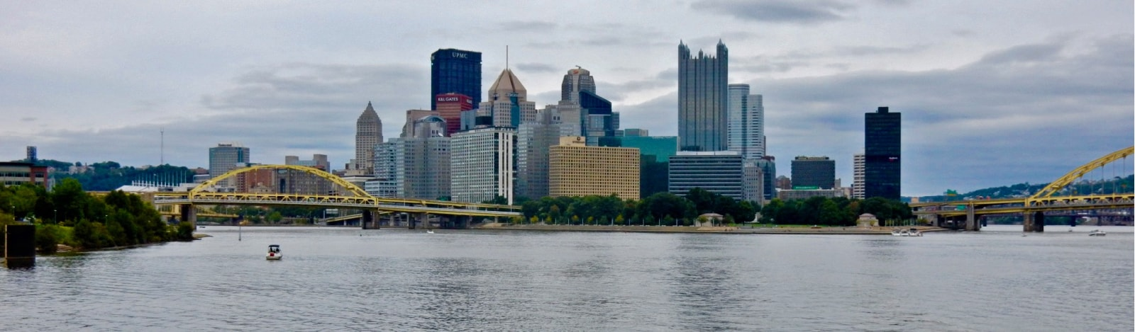 Downtown Pittsburgh from the River