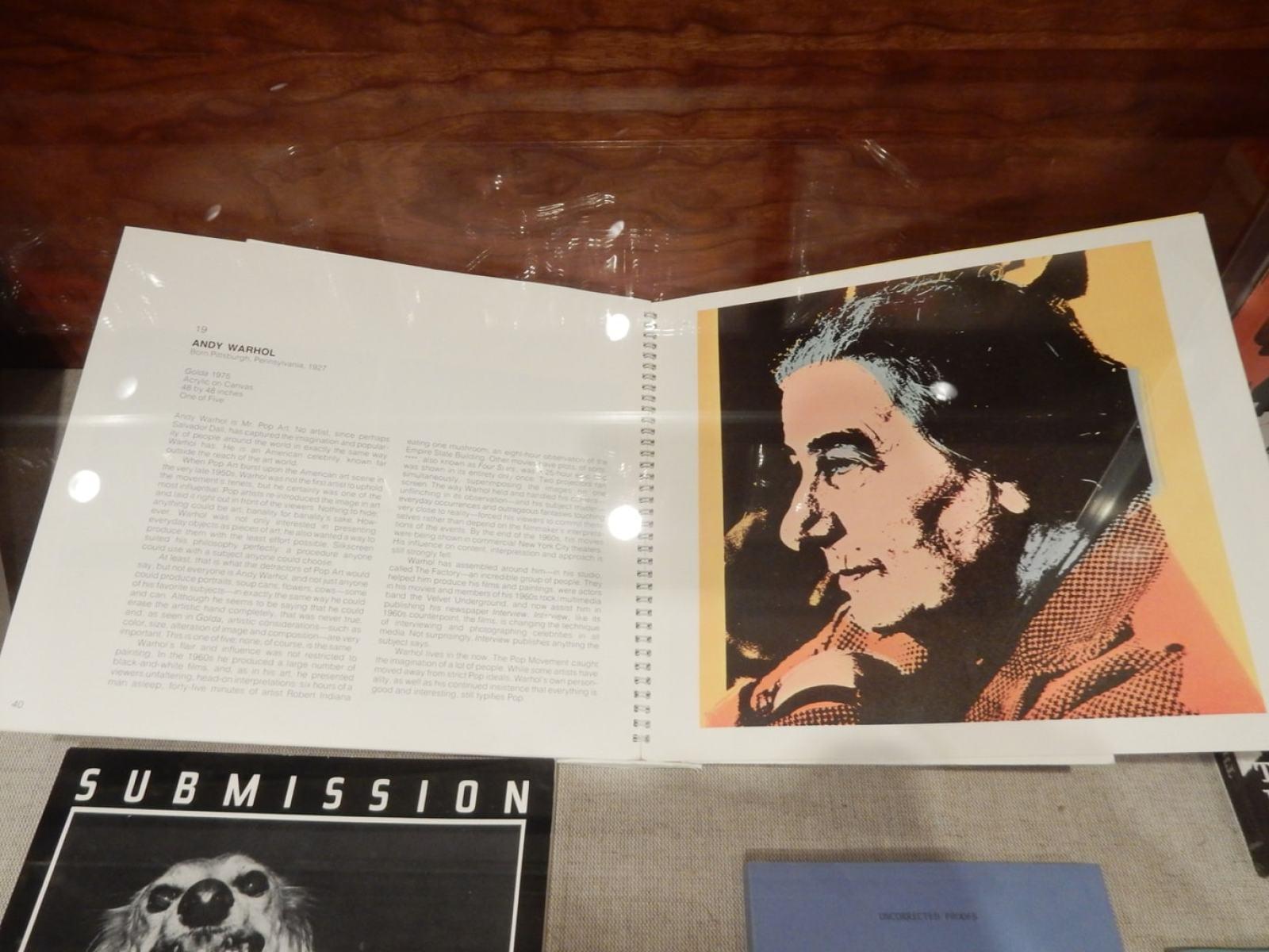 Golda by Warhol Andy Warhol Museum Pittsburgh PA