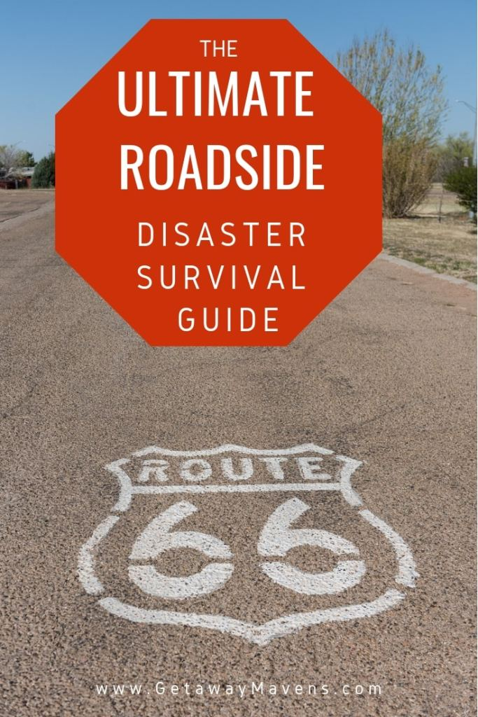 The best time to prepare for the next road emergency is before you travel. Here are road trip tips and the ultimate roadside emergency kit to survive anything Mother Nature throws at you. #emergency #safety #roadtrip
