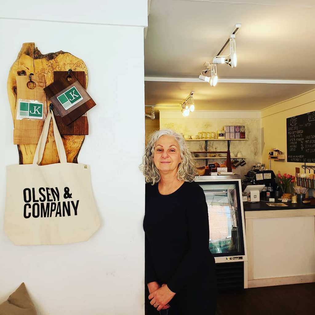 Marianne Olsen, owner, O&Co. Saugerties NY