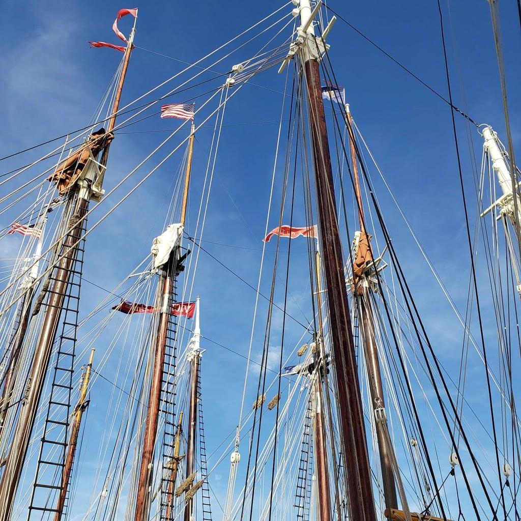 Schooner Masts