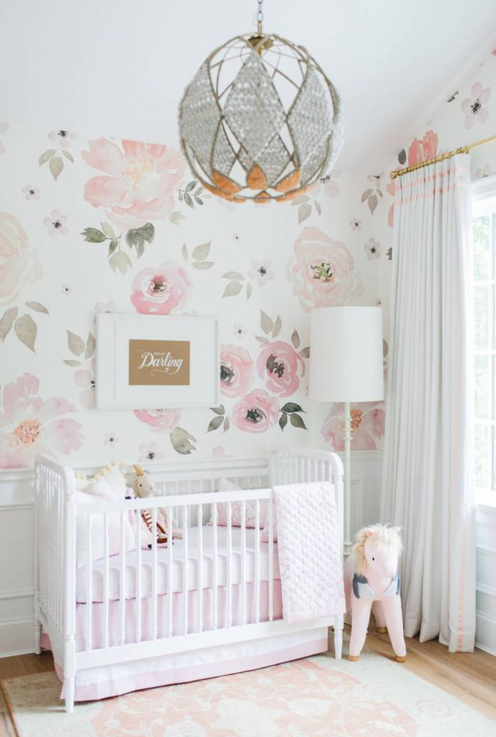 Perfect baby girl room ideas pictures #babygirlroomideas #babygirlnurseryideas #babygirlroom