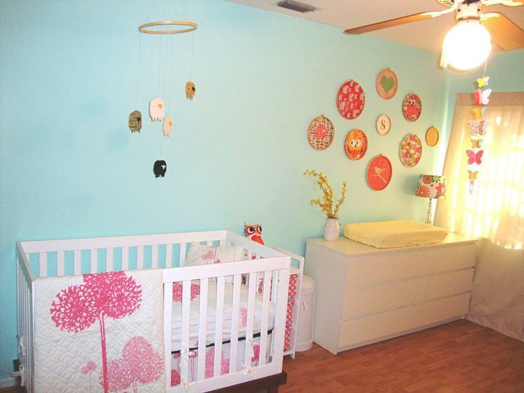 Delight baby girl nursery decorating ideas on a budget #babygirlroomideas #babygirlnurseryideas #babygirlroom