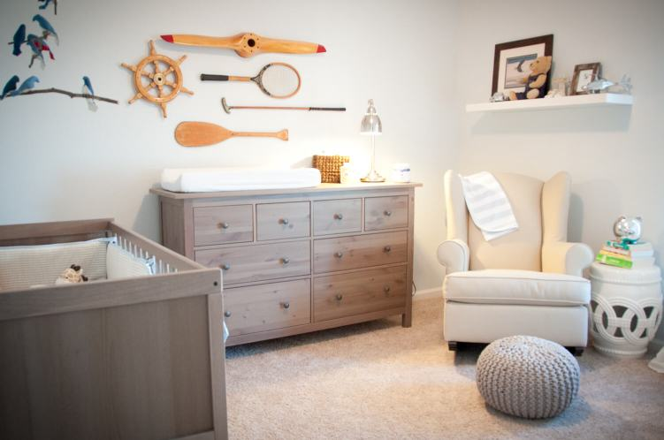Delight baby boy birthday room decoration ideas #babyboyroomideas #boynurseryideas #cutebabyroom