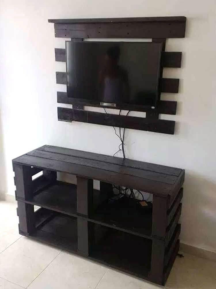 Sensational diy tv stand wood #DIYTVStand #TVStandIdeas #WoodenTVStand