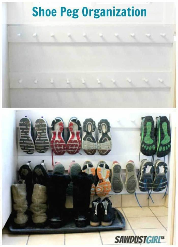 Epic shoe storage bench #shoestorageideas #shoerack #shoeorganizer