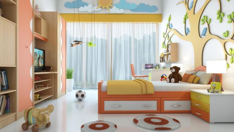 Extraordinary wallpaper for boys room #kidsbedroomideas #kidsroomideas #littlegirlsbedroom