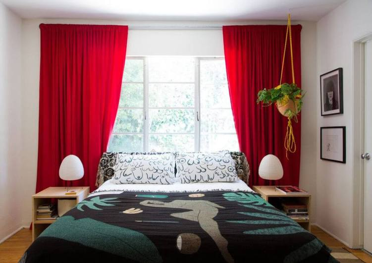 Perfect gold bedroom curtain ideas #bedroomcurtainideas #bedroomcurtaindrapes #windowtreatment