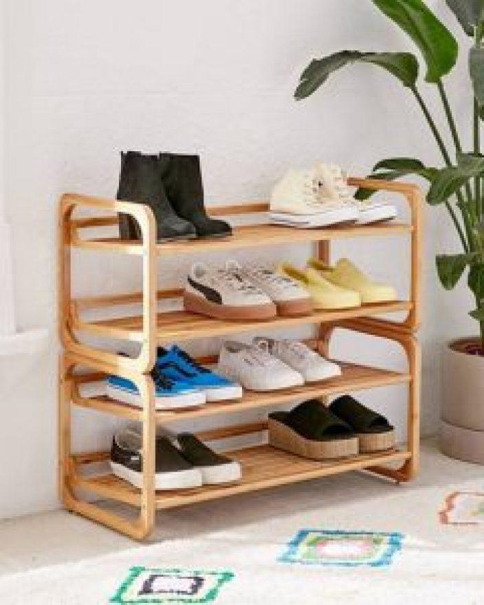 Remarkable shoe storage ideas for dorm rooms #shoestorageideas #shoerack #shoeorganizer