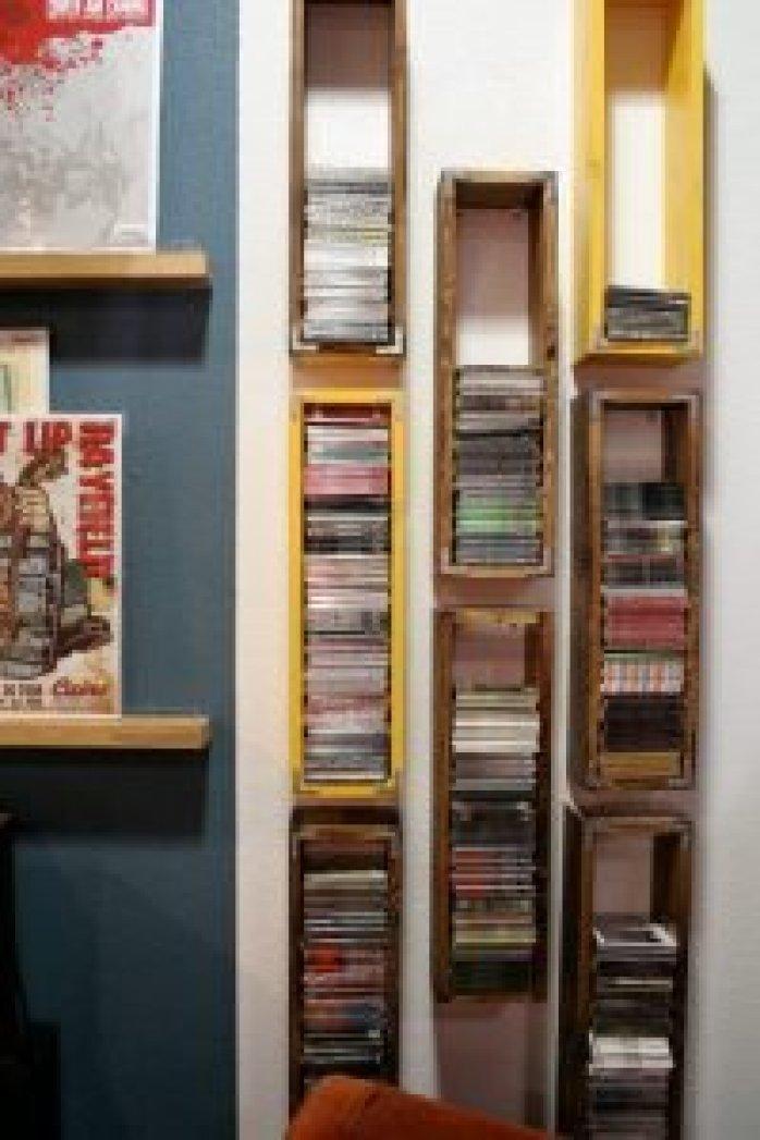 Unbeatable cd storage ideas #dvdstorageideas #cddvdstorage #dvdrack
