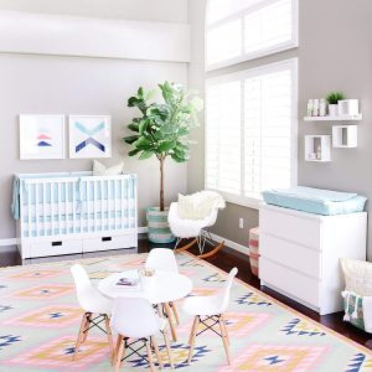 Extraordinary baby boy room ideas grey and white #babyboyroomideas #boynurseryideas #cutebabyroom