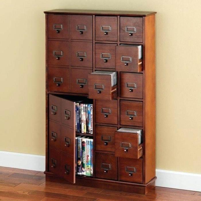 Wondrous storage for small spaces #dvdstorageideas #cddvdstorage #dvdrack