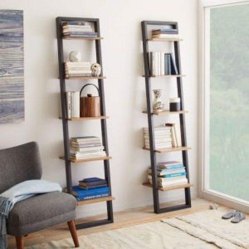 ladder bookshelf ideas