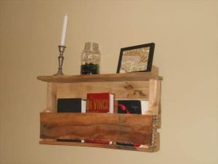 Life-changing diy bookshelf pallet #diybookshelfpallet #bookshelves #storageideas