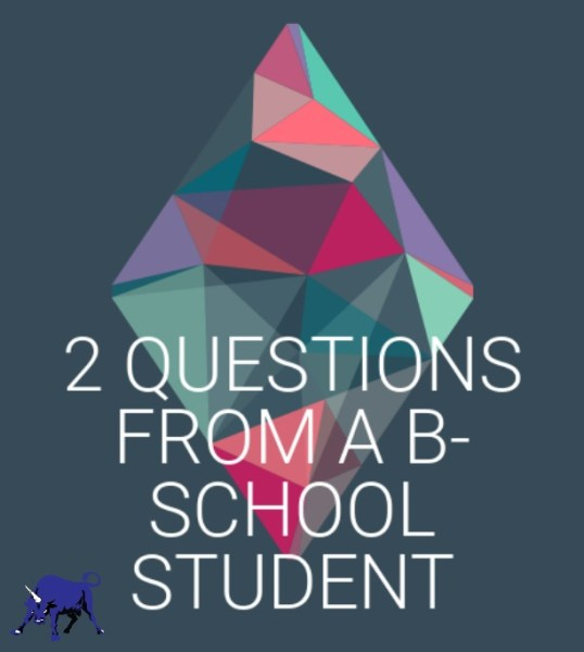 Questions from a Business school student with Jen Dziura of Get Bullish