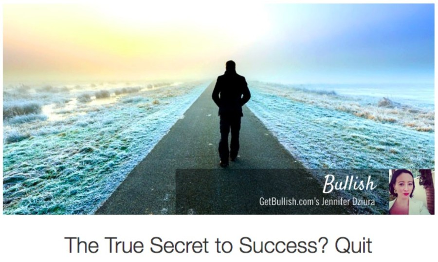 Secret to Success