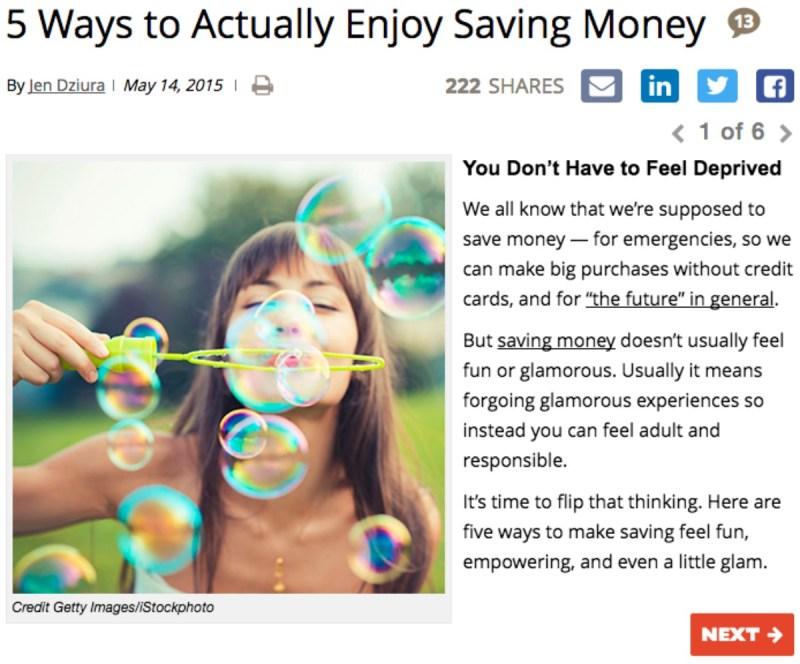 EnjoySavingMoney