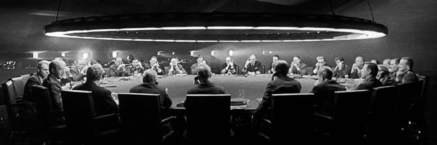 Dr. Strangelove – there are no women in the War Room