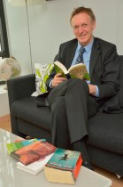 "Janez Potocnik for the  ""Get Caught Reading "" campaign   at the EC"