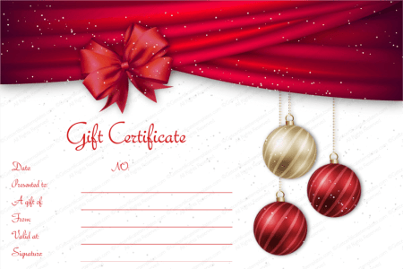 printable christmas gift certificates templates free radiovkm tk