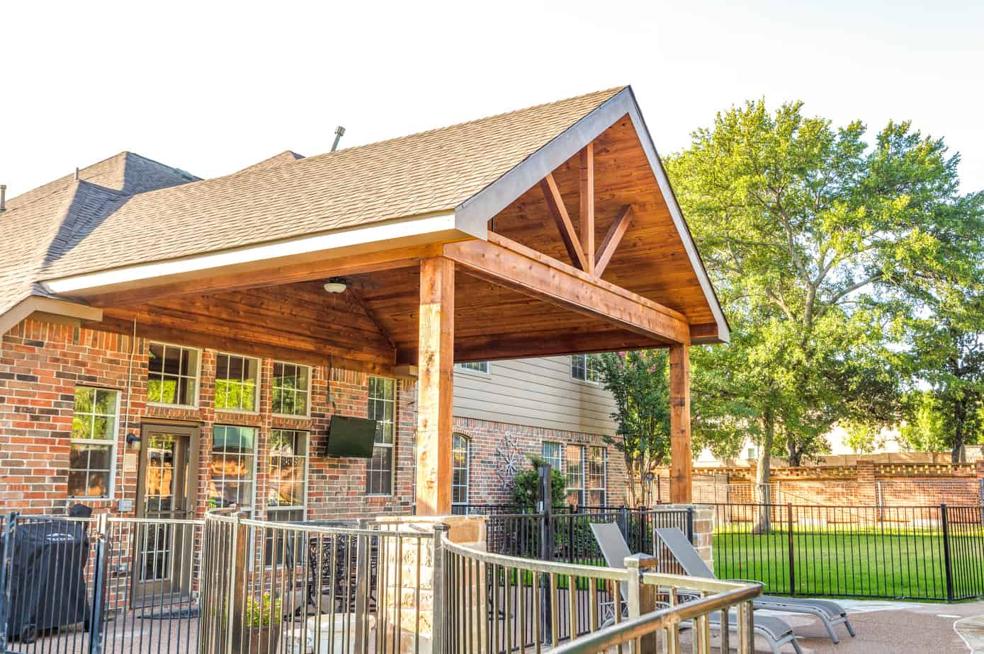 outdoor living patio cover options