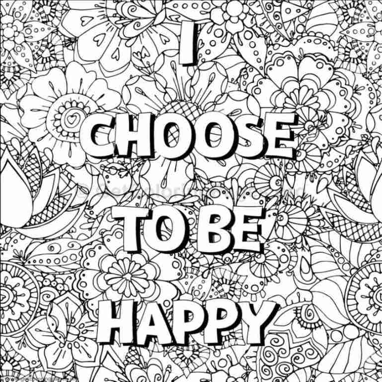 Inspirational Word Coloring Pages #1 – GetColoringPages.org | free printable inspirational coloring pages