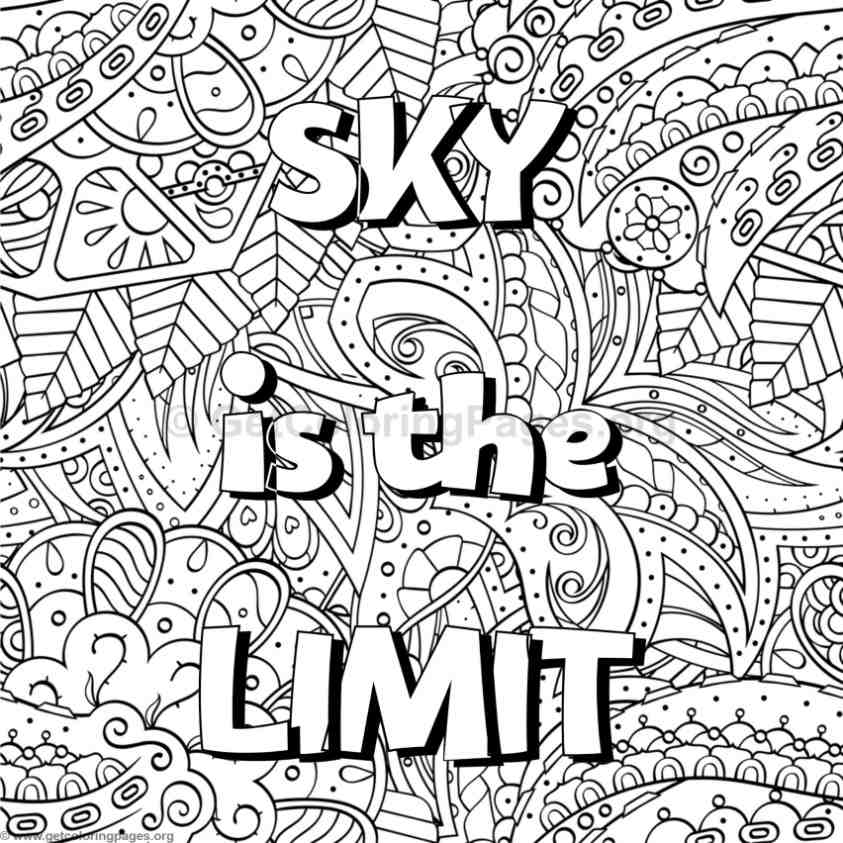 Inspirational Word Coloring Pages 45