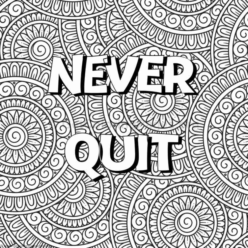 Inspirational Word Coloring Pages #56 – GetColoringPages.org   free coloring pages quotes