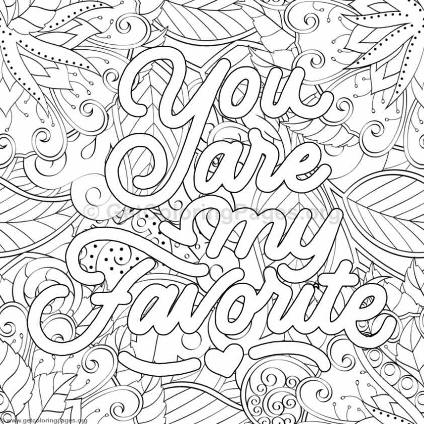Inspirational Word Coloring Pages #33 – GetColoringPages.org   free printable colouring pages quotes