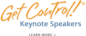 Get Control Keynote Speakers Time Management Seminars & Training